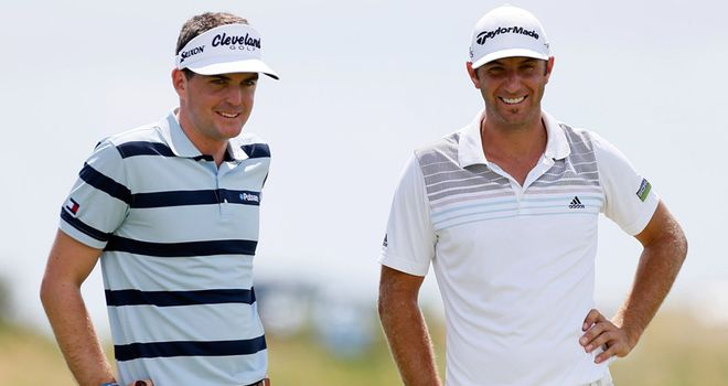 Keegan Bradley and Dustin Johnson: can rack up the cash