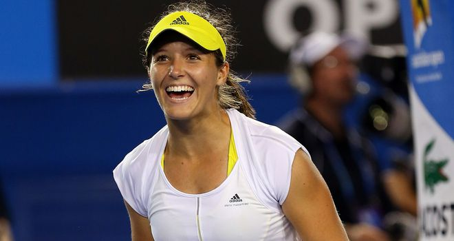Laura Robson: Looking to overcome the odds again Down Under
