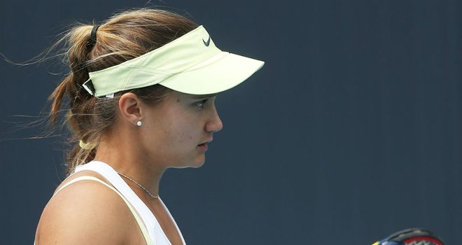 Lauren Davis: Through to the quarter-finals after surprise win