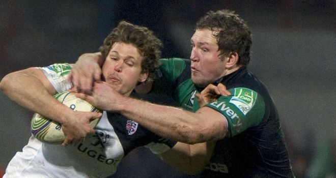 Michael Swift: Connacht lock tackles Toulouse's Luke Burgess