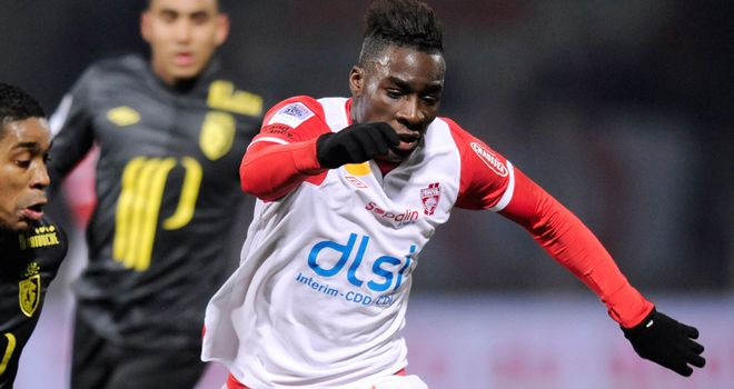 Massadio Haidara: Won over by Newcastle's eagerness to sign him