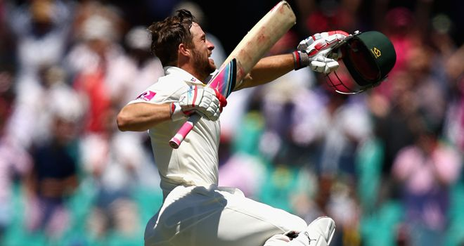 A remarkable day for Matthew Wade who has scored 501 runs at 45.54 in Tests