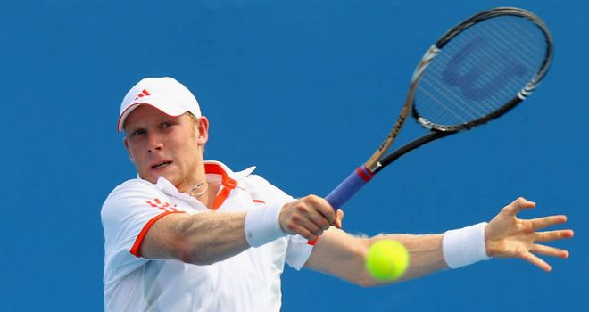Matthias Bachinger: Upset seventh-seed Yen-Hsun Lu in the Chennai Open