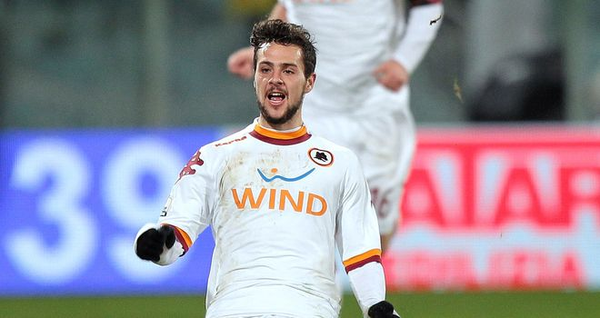 Mattia Destro forced an equaliser for Roma