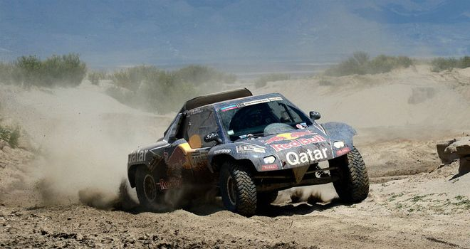 Nasser Al-Attiyah: Allowed to stay in after getting stuck on stage eight
