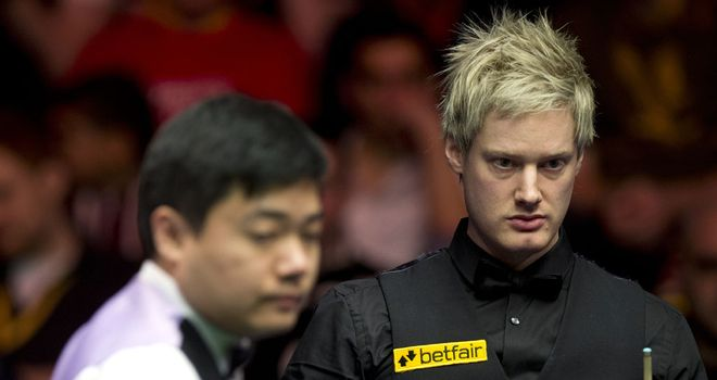 Neil Robertson: Had to dig deep to keep his hopes of a defence alive