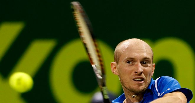 Nikolay Davydenko: Suffered early exit at Open Sud de France