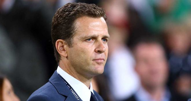 Oliver Bierhoff: Germany set to face England in friendly international