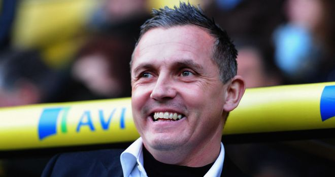 Paul Buckle: Luton's manager paid tribute to Luton's players and fans after shocking Norwich