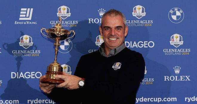 Paul McGinley: Confirmed as Europe's captain for the 2014 Ryder Cup