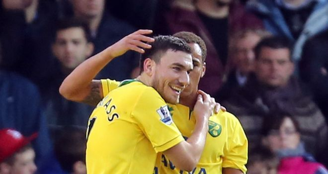 Robert Snodgrass: Scored one and set up another for Norwich against Peterborough
