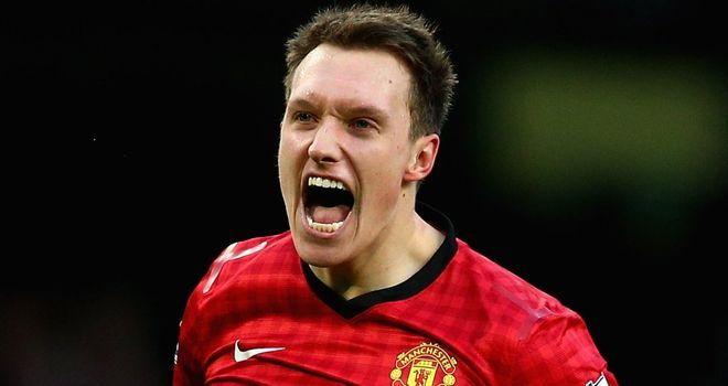 Phil Jones: Selected for England Under-21s