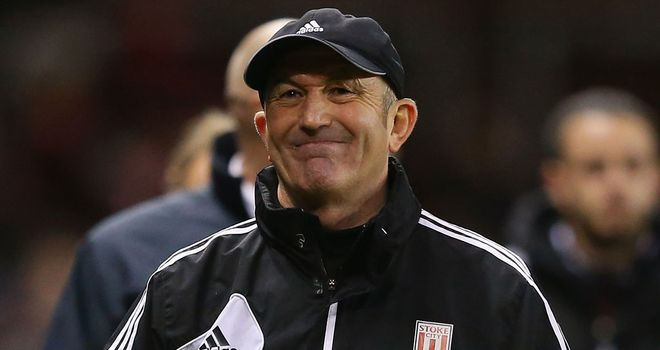 Tony Pulis: Criticised Arsenal's players