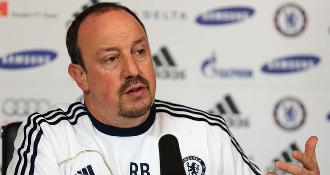 Rafa Benitez: Chelsea manager not expecting any new signings