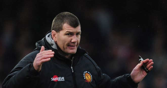 Rob Baxter: Frustrated by forfeiting late tries