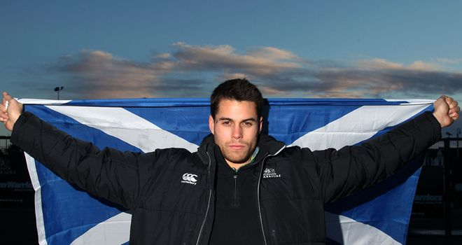 Sean Maitland: Will make Scotland debut against England