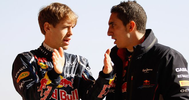 Sebastien Buemi: Staying on as Red Bull's reserve driver