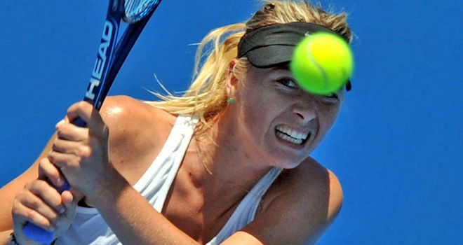 Maria Sharapova: Lack of preparation a worry