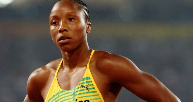 Sherone Simpson: 18-month ban for Jamaican