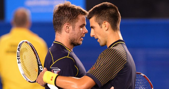 Stanislas Wawrinka and Novak Djokovic played out a couple of classics this year
