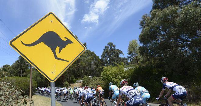The Santos Tour Down Under is held around Adelaide