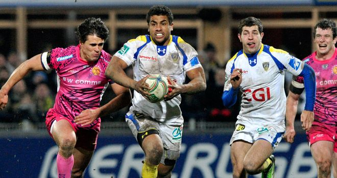 Wesley Fofana: Scored the opening try for Clermont Auvergne