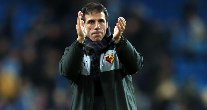 Gianfranco Zola: Thanked fans after Watford's 4-0 win over Huddersfield
