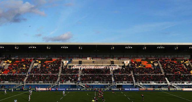 Allianz Park: First match gets under way at Saracens' new home
