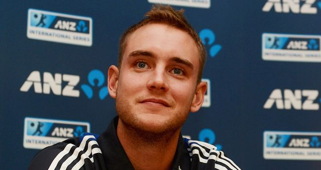Stuart Broad: Expecting firm challenge from New Zealand