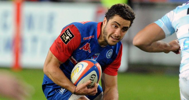 Lucas Dupont: Scored crucial try for victorious Grenoble
