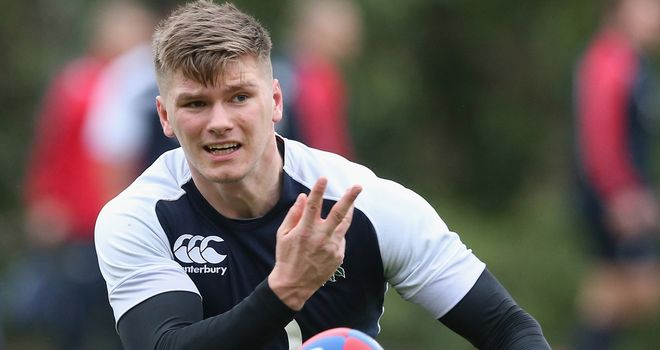 Owen Farrell: will be hoping to star for the Lions Down Under this summer
