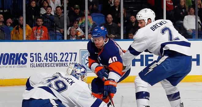 Match action from the Islanders' 4-3 win over Tampa Bay