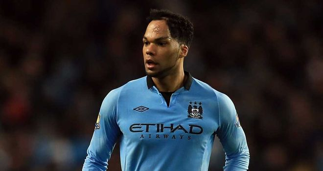 Joleon Lescott: Manchester City defender in action against Watford