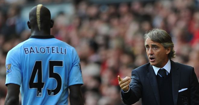 Mario Balotelli: Warm words for Roberto Mancini