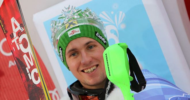 Marcel Hirscher: Back on top of the podium