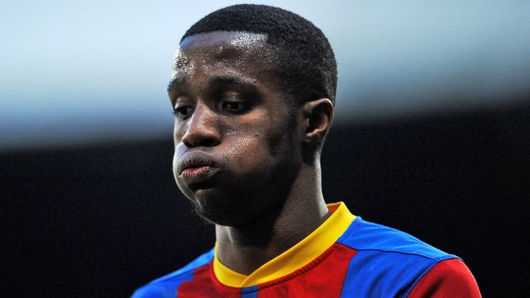 Wilfried Zaha: Tipped for move to Old Trafford