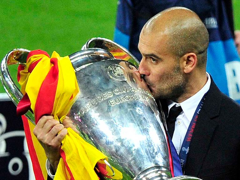 Pep Guardiola: Enjoyed plenty of success with Barcelona