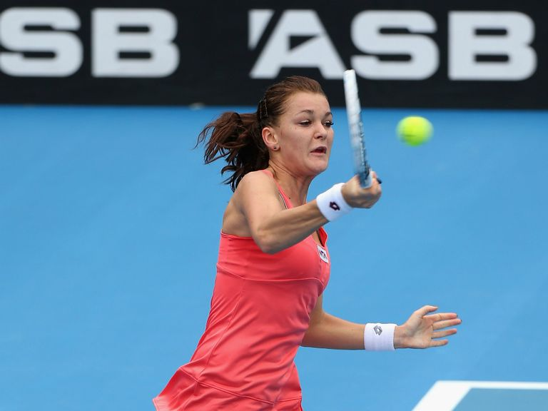 Agnieszka Radwanska: Booked place in the final