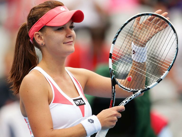 Agnieszka Radwanska: Her charge goes on
