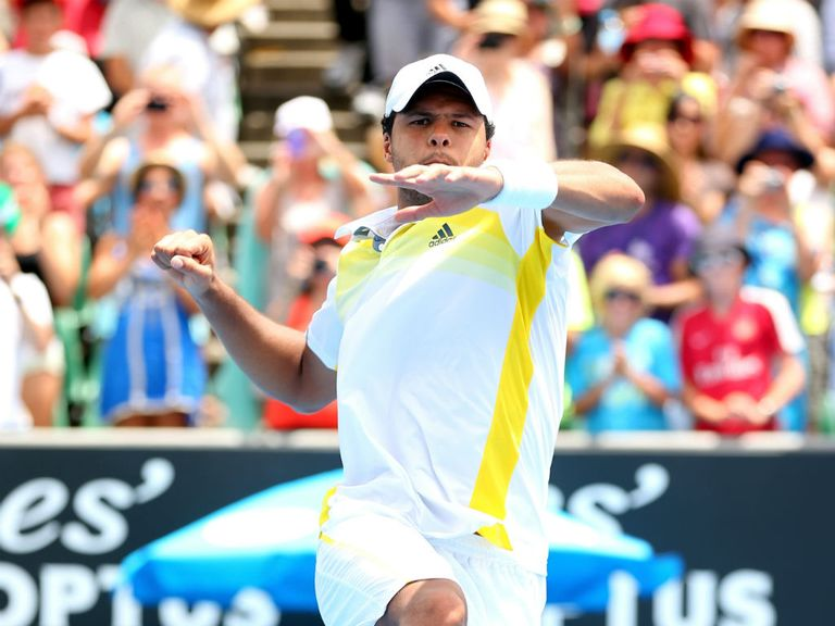 Tsonga: Straight-sets victory