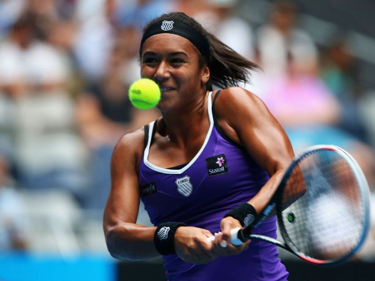 Heather Watson: Now the world number 40