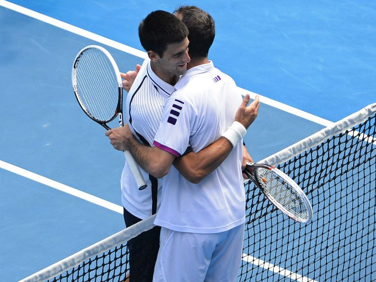 Novak Djokovic: Made to work hard by Stepanek