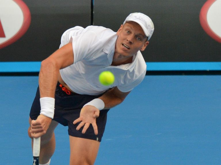 Tomas Berdych: Smooth progress so far