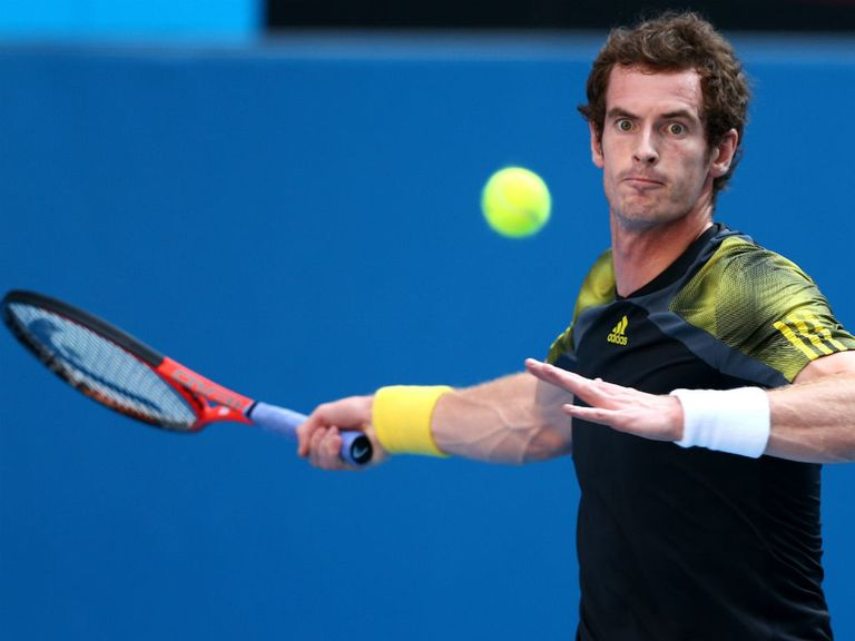 Andy Murray: Strongly-fancied to beat Jeremy Chardy