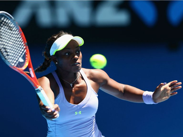 Sloane Stephens: Beat Serena Williams to reach semi-finals