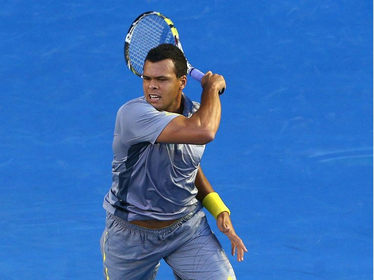Jo-Wilfried Tsonga: Shock defeat in Rotterdam