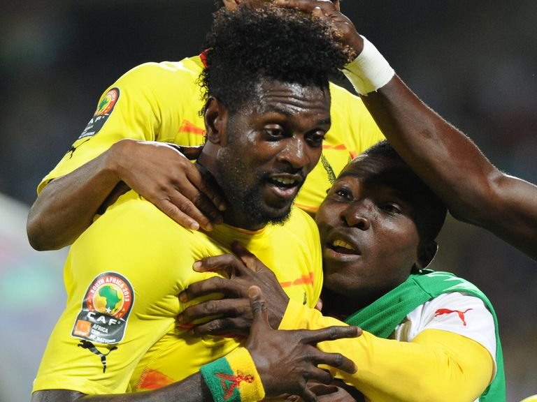 Adebayor: Returned late from African Cup of Nations duty