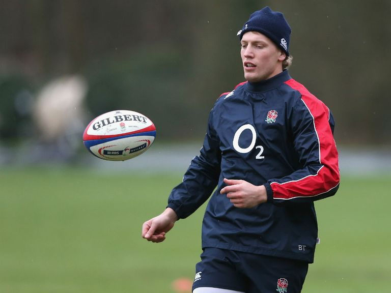 Twelvetrees: Makes debut against Scotland