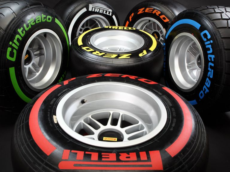 Pirelli tyres were tested by Mercedes in Barcelona