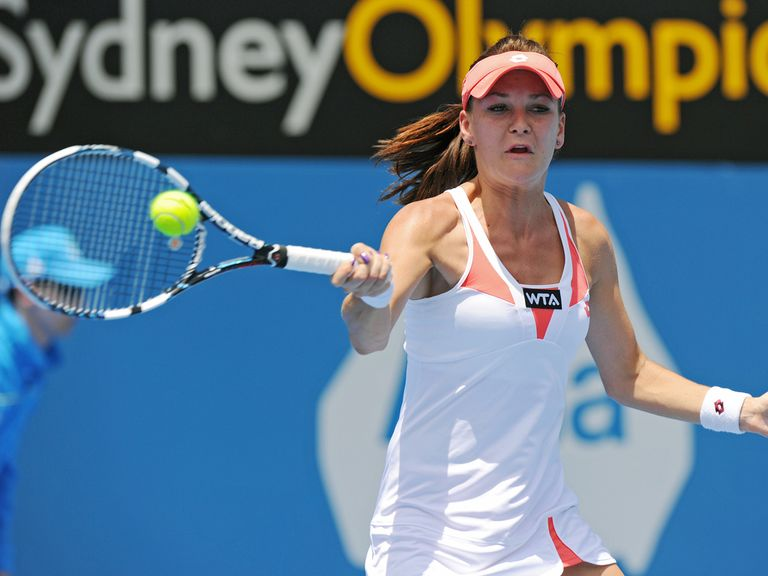 Radwanska: Straight-sets victory